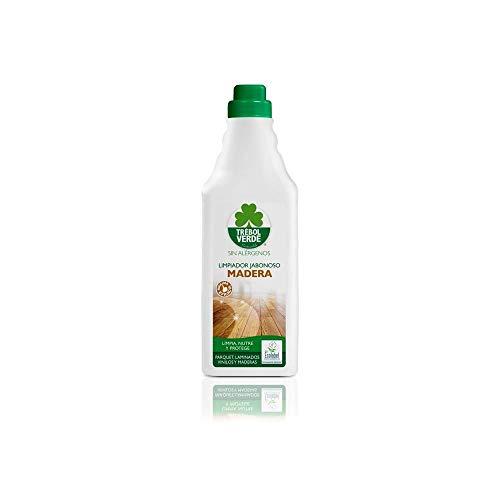 Limpiador jabonoso madera y parquet ECO Trébol Verde 1 L