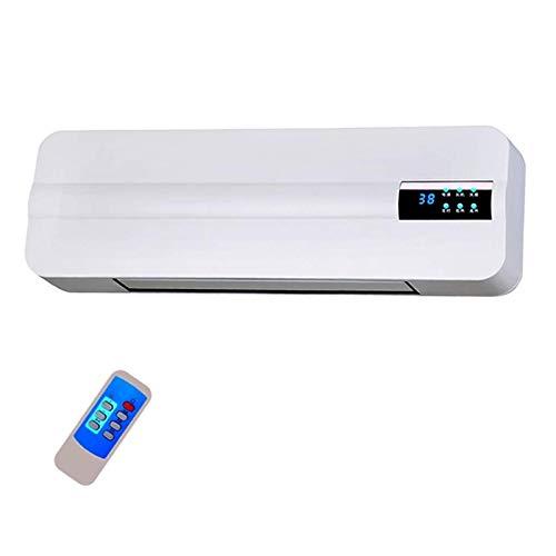 JJSFJH Calentador de Pared, hogar Ahorro de energía Ahorro de energía Baño Calefacción Aire Acondicionado Ventilador Velocidad Caliente