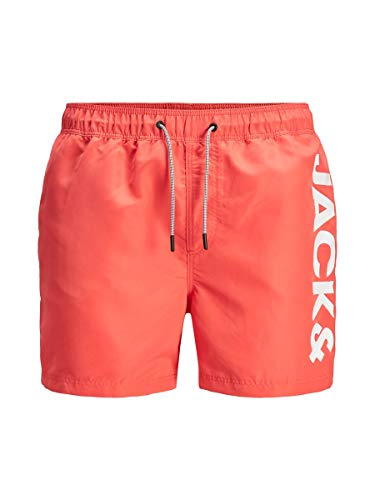JACK & JONES Male Badeshorts Logo XLHot Coral