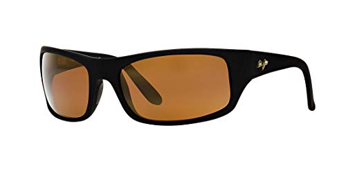 Maui Jim Peahi Matte Black/Hcl Bronze One Size