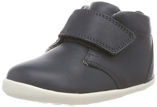 Bobux Ziggy, Sneaker a Collo Alto Unisex-Bambini, Blu (Navy 1), 19 EU