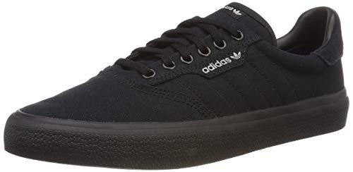 adidas Herren 3MC Vulc B22713 Skateboardschuhe, Schwarz (Negbás/Negbás/Gridos 000), 46 2/3 EU