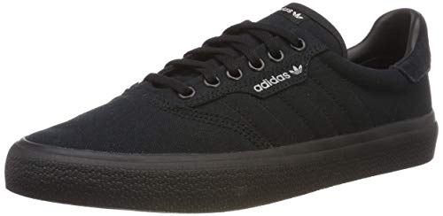 adidas Unisex-Erwachsene 3MC Vulc B22713 Skateboardschuhe, Schwarz (Negbás/Negbás/Gridos 000), 46 EU
