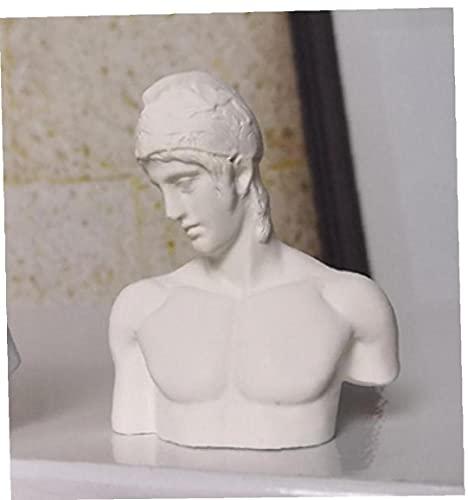 NaiCasy Nordic Yeso, Tipo Mini Resina Figuras Famosa Escultura del Busto de Yeso Estatua Griega de la mitología de la estatuilla de Yeso de Retratos 7cm Estilo 8