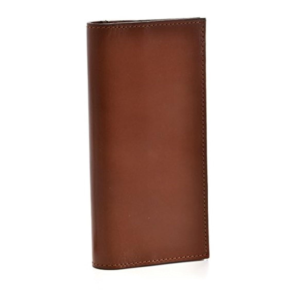 バック背景等しいGLENROYAL(グレンロイヤル) 財布 メンズ BRIDLE LEATHER 2つ折り長財布 ブラウン 035605-0001-0004 [並行輸入品]
