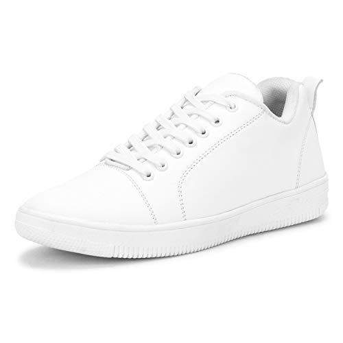 Kraasa White Sneakers for Men UK 10
