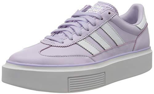 adidas Sleek Super 72 W, Zapatillas Mujer, Purple Tint/FTWR White/Crystal White, 36 2/3 EU