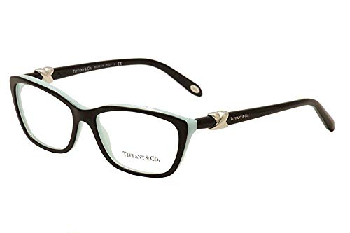 Tiffany Tf2074 8055 Top Black/Blue 5416, Havana/Transparent, Size 54-15-135