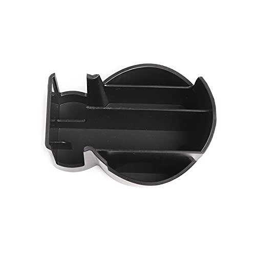 GIS Ajuste para Land Rover Discovery Sport L550 2019-2020 ABS Caja de Almacenamiento Central Negro Caja de Almacenamiento Titular de Taza de Soporte de teléfono Accesorios para automóviles