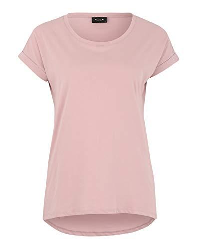 Vila Womens VIDREAMERS Pure NOOS T-Shirt, Altrosa, XS