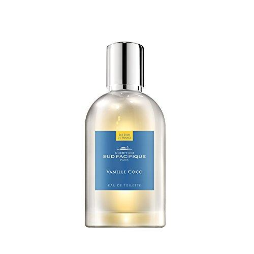 COMPTOIR SUD PACIFIQUE Vanille Coco, Eau de Toilette Natural Spray, 100 ml