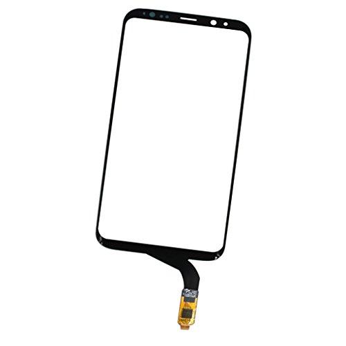 Almencla Panel De Lente De Vidrio Exterior del Sensor Digitalizador De Pantalla Táctil para Samsung S8 Plus