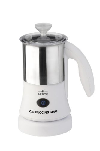 Lentz CAP600w Cappuccino+Cocktail King (Milch 600 ml, Aufschäumen 300 ml)