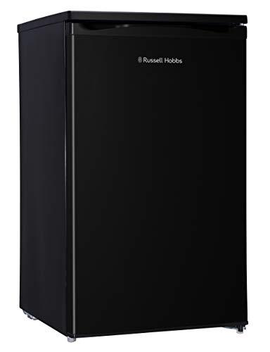 Russell Hobbs RHUCLF2B Black 50 cm Wide Under Counter Freestanding Larder Fridge , Free 2 Year Guarantee