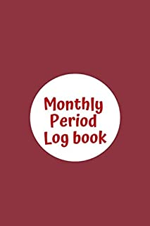 Monthly Period Log book: menstrual cycle tracker for young girls, teens and women