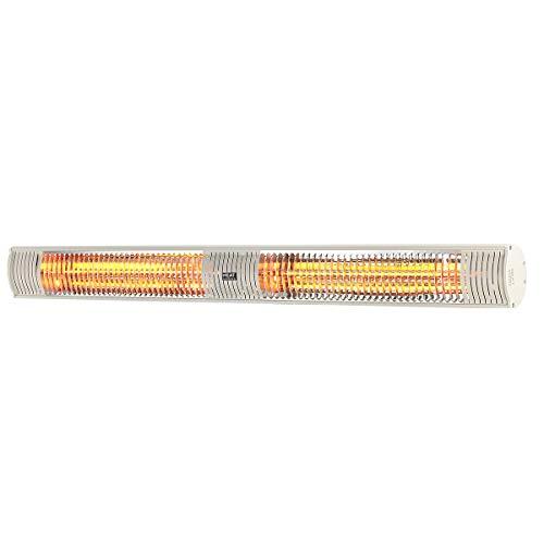 Heat Outdoors 901561 Shadow radiator, 3,0 kW, zeer lage verblinding, wit