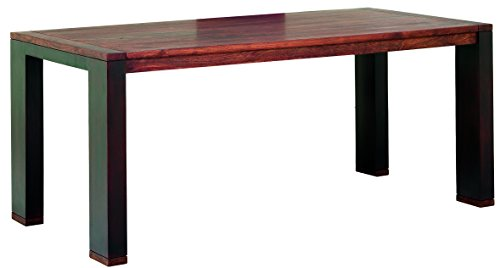 Guru-Shop Mesa de Comedor `Verona` R-1467, Maderadeacacia, 76x180x90 cm, Mesas de Comedor Mesa