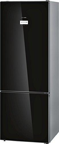 Bosch KGF56HB40 Serie 8 Freistehende XXL-Kühl-Gefrier-Kombination / A+++ / 193 x 70 cm / 216 kWh/Jahr / ColorGlass Schwarz / 375 L Kühlteil / 142 L Gefrierteil / NoFrost / Home Connect
