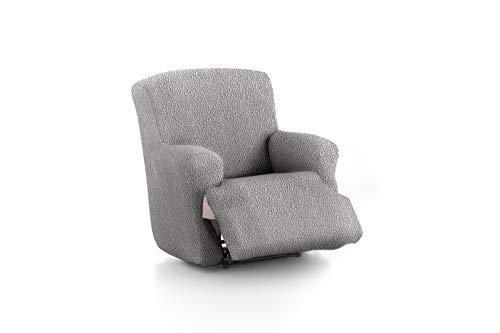Eysa 3D Funda de sofá, Gris Claro, 1 Plaza