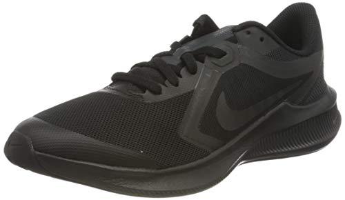 Nike Downshifter 10 (GS), Running Shoe, Black/Black-Anthracite, 38.5 EU