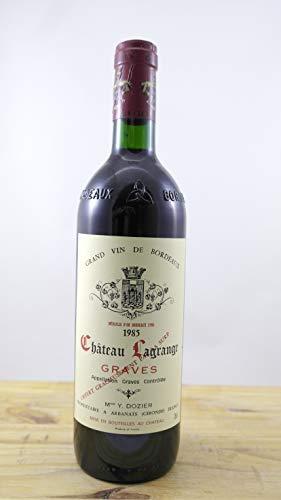 Wein Jahrgang 1985 Château Lagrange