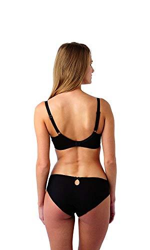 Panache Women's Underwired Sports Bra, Black, 42D