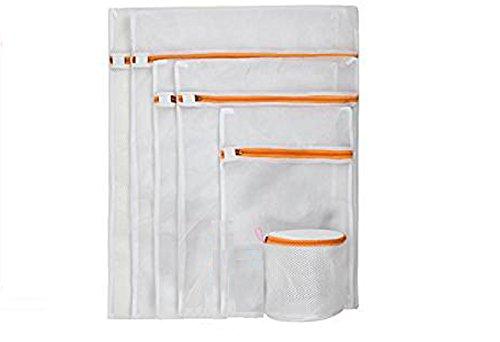 Premium Wäschenetz Wäschesack für Waschmaschine (6er-Set) verschieden Größen