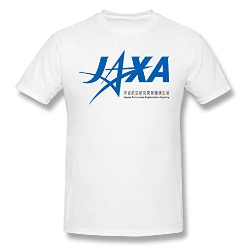 Jaxa Logo Men's T-Shirt Breathable Sports Giftst Shirtsbasic Style White Xx-Large