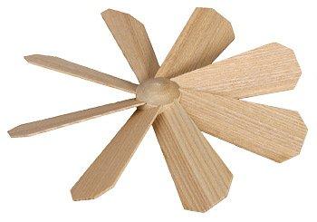 Rudolphs Schatzkiste Ersatzteile Flügelrad Ø 165 mm Ø 165mm NEU Ersatz Pyramide Weihnachten Seiffen Holz Erzgebirge