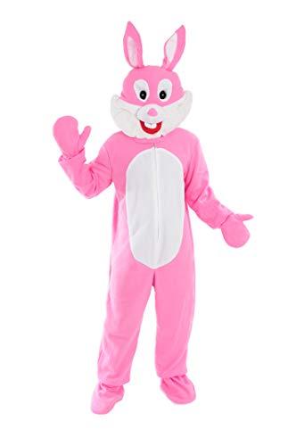 Hase Rosa Einheitsgrösse XXL Kostüm für Fasching Karneval Ostern