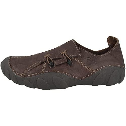 Clarks Mamo Spirit 2 - Zapatos bajos para hombre, Marrón oscuro 00118712, 40 EU