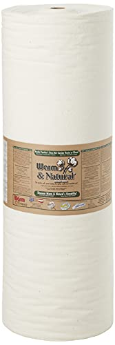 Warm Company Warm and Natural Cotton Batting by The Yard, 90-Inch by 40-Yard