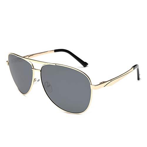 HAISERVEN 160 mm for Hombre de Gafas de Sol polarizadas de Gran tamaño Enorme de los vidrios de Sun for el Hombre de conducción Anti Polar Aviación Eyewear UV400 Gafas de Sol