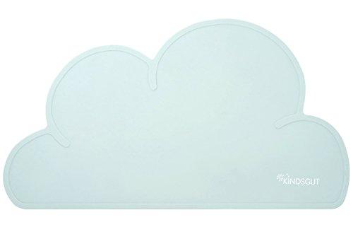 Kindsgut Platzdeckchen Wolke, Tisch-Set, Unterlage in kinderfreundlichem Design und dezenten Farben, frei von BPA, Aquamarin