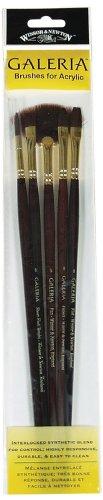Winsor & Newton Galeria - Set di pennelli a manico lungo