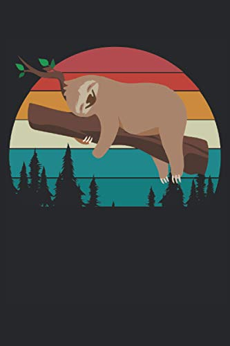 Bel taccuino bradipo per appunti: Taccuino di bradipo divertente per i fan dei bradipi I bradipi mi rilasso