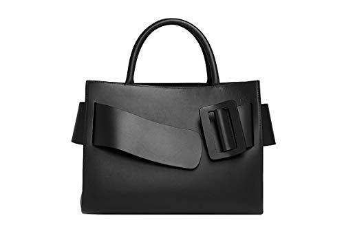 BOYY Luxury Fashion Damen BOBBYBLACK Schwarz Leder Handtaschen | Herbst Winter 20