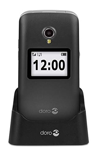 Doro 2424 Easy Clamshell - Teléfono Móvil (Memoria Interna de 8, 16 GB RAM),...