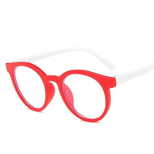 Tiantian Round Frame Anti Blue Light Glasses Plain Glasses Children Radiation Protection For Kid Computer Phone Online Course,2