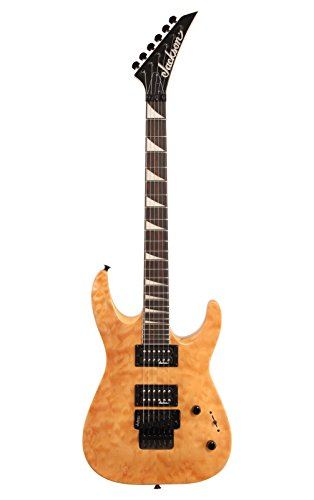 Jackson JS32Q Dinky Arch Top Quilt Maple Transparent Amber