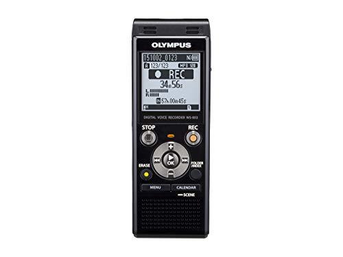 Olympus WS-853 Riproduttore e Registratore Stereo MP3, 8 GB, Nero
