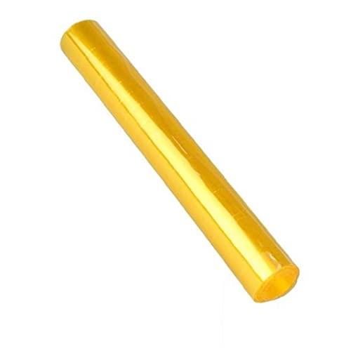 GGOOD Práctico del Coche del reemplazo Faros de Cine de Vinilo del Tinte de la película Auto-Adhesivo de Las Luces traseras Adhesivo de Color Amarillo