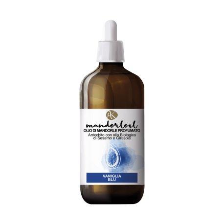 ALKEMILLA - Huile d'amande douce parfumée - Vanille bleue - Bio - Nichel Tested - 250 ml