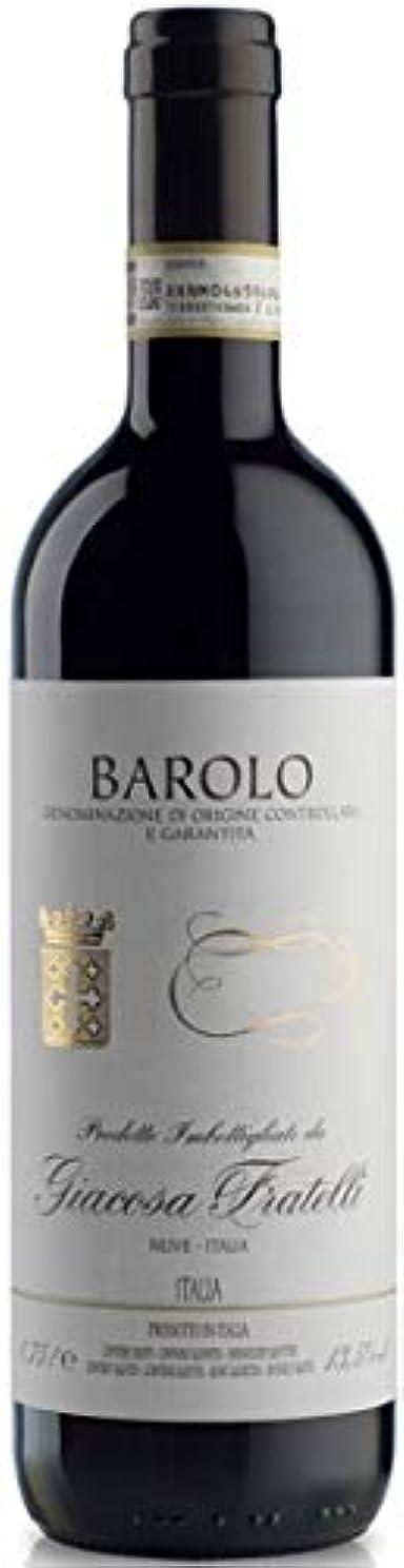 バローロ 2015 フラテッリ ジャコーザ 赤 750ml