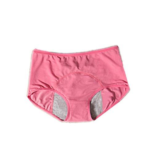 N\P Ropa interior de mujer sexy pantalones anti-incontinencia ropa interior bragas cintura alta mujeres