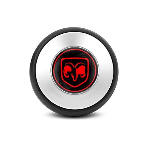 Mando del Volante de la Perilla de la Perilla de la Perilla del Mango de la Bola de la Bola Accesorios de Rueda de Bola/Ajuste para -Dodge RAM 1500 Cargador Challenger Durango Journey /
