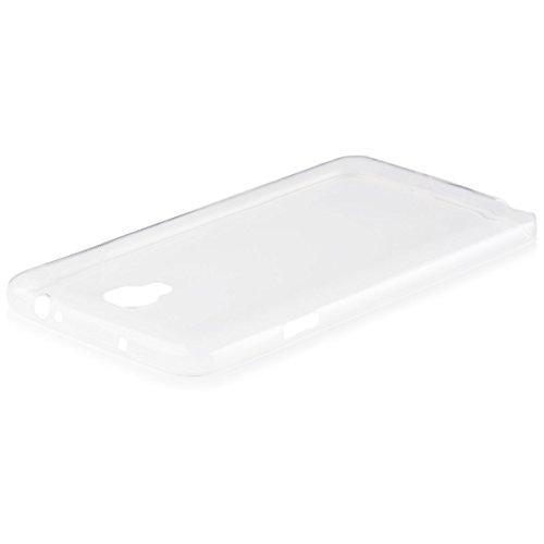 iCues | Samsung Galaxy Note 3 NEO | ultra sottile TPU Chiaro | in più di luce molto sottile foglio di protezione trasparente della cassa del [Screen protector Compreso] Custodia Cover Case Tasca Borsa