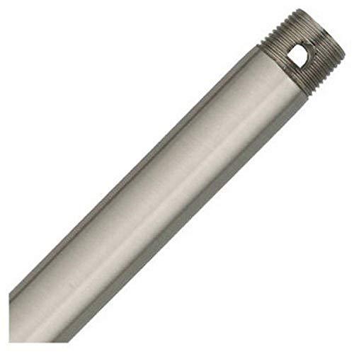 Hunter 26019 12-Inch Downrod, Brushed Nickel