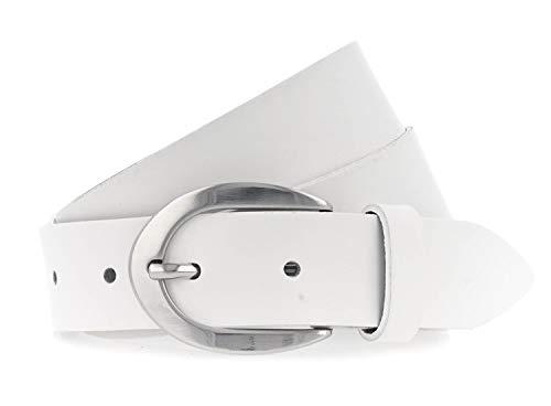 Vanzetti Damen Gürtel 30 mm weiß 75