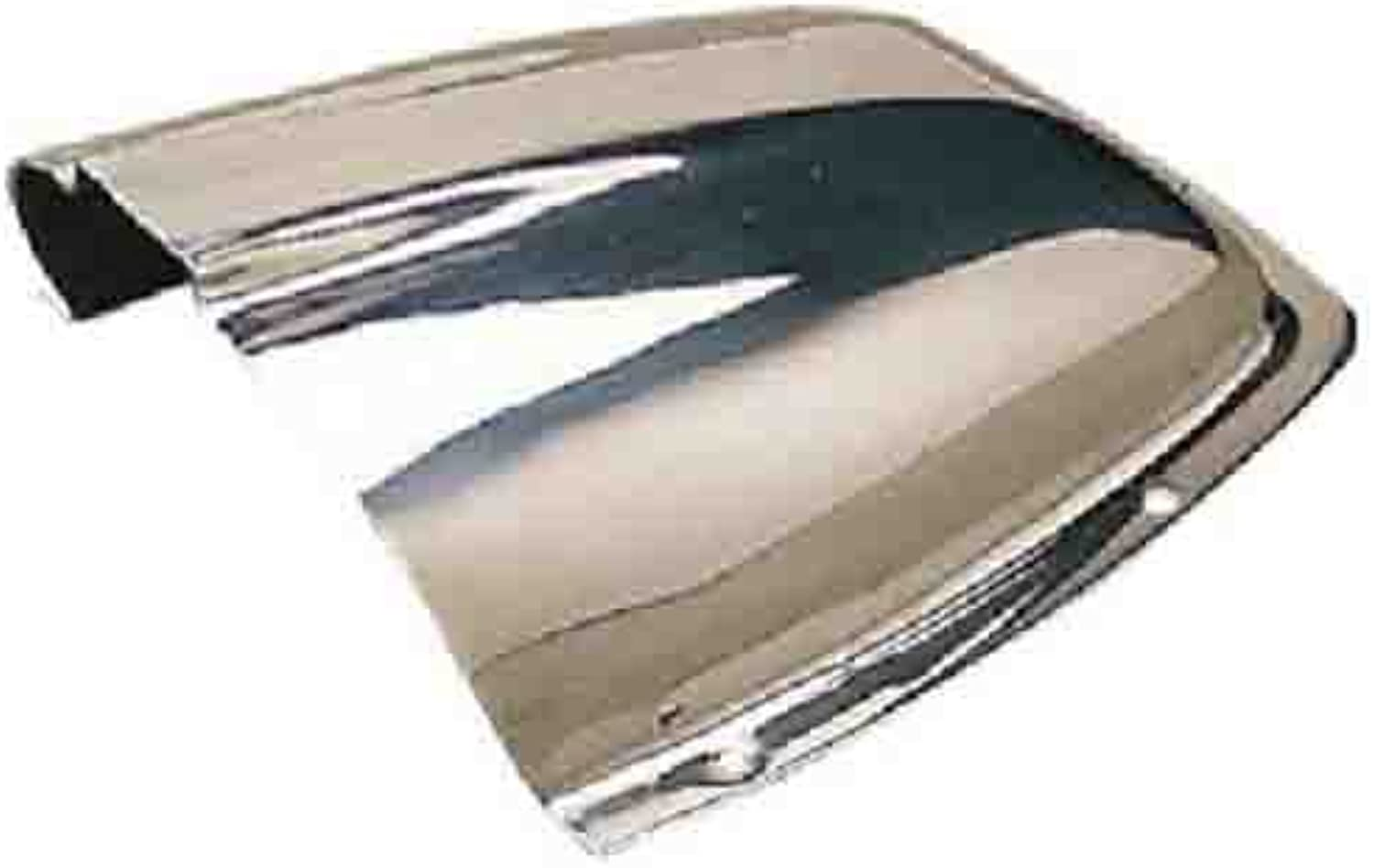 CLAM SHELL VENT Stainless Steel 71 2